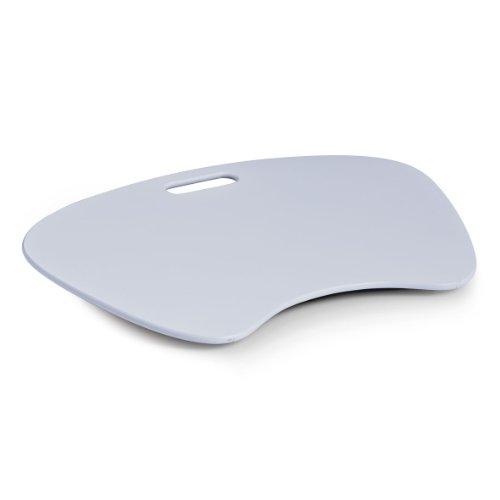 Zeller 13001 Laptop-Schoßtablett, MDF, 59 x 40 x 6 cm, weiß
