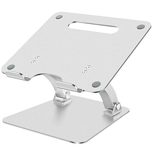 NULAXY Laptop Ständer Verstellbarer aus Aluminium für MacBook Pro/Air, Apple Laptop Ständer, 7-15'Notebook und Samsung Tablet