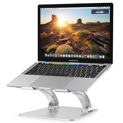 NULAXY Laptop Ständer, Notebook ständer für Ipad und Dell, HP, Samsung, Lenovo alle 10'~15.6' Notebooks - Silber (Silber1) (Silber1) (Silber)