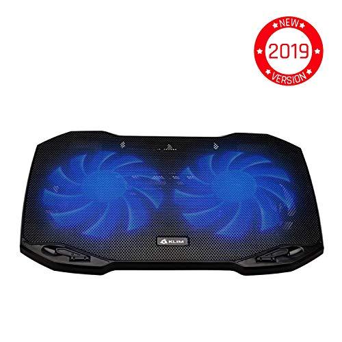 KLIM Pro - Der Kühler für Profis - Laptop PC Support - Einfach zu transportieren - 10' bis 15,6' - Zusätzlicher USB-Port [ Neue 2019 Version ]